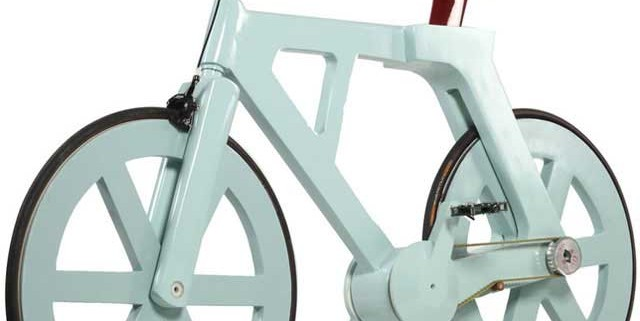 Sykkel av papp - en rimelig og naturvennlig måte å komme seg rundt på!