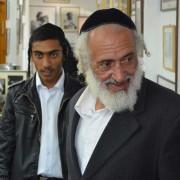 To jøder fra Jemen som er kommet hjem til Israel. Foto: Øyvind Bernatek