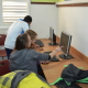 Net@-ungdommen får hjelp til sin egen fremtid med ekstra dataundervisning. Samtidig gir de tilbake til de nye immigrantene - via både hebraisk og dataopplæring. Utrolig!