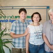 Jødiske flyktninger fra Ukraina er glade for å være i Israel. Flere venter. Foto: Jewish Agency