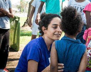 Sosialarbeiderne hos Selah gjør et viktig arbeid for både barn og voksne i traumesituasjoner. Foto: Rebekka Rødner