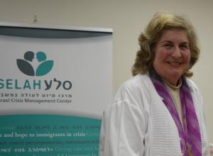 Ruth Bar-On leder arbeidet til SELAH. Det SELAH får til, de mange menneskene de hjelper - arbeidet er en hjertesak for alle som jobber og er frivillig.