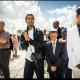 Bar Mitzvaen ble feiret ved klagemuren i Jerusalem. Det var en stor dag for familien. Micha Feldmann fra Selah hjalp til med å arrangere det hele. Foto: Edward Kaprov