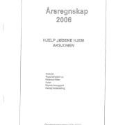 Årsrapport og årsregnskap for 2006
