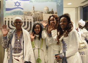 Glade etiopiere har endelig kommet hjem!