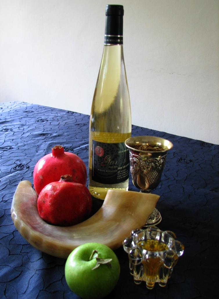 Jødisk nyttår med epler og honning